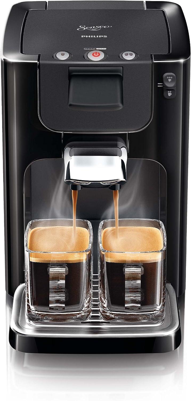 Philips Senseo Quadrante - Cafetera monodosis, color negro ...