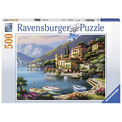 Ravensburger Villa Bella Vista-500 Piece Jigsaw Puzzle: Toys & Games
