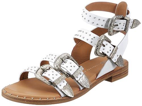 a3b26ddbe8d Bronx Women's Bx 1465 Bthrillx Open Toe Sandals: Amazon.co.uk: Shoes ...