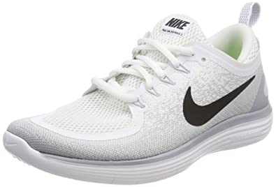 sports shoes af0dd ef78a Image Unavailable. Image not available for. Color  Nike Men s Free    Flexible RN Run Natural Distance Running Shoes, Wolf Grey White