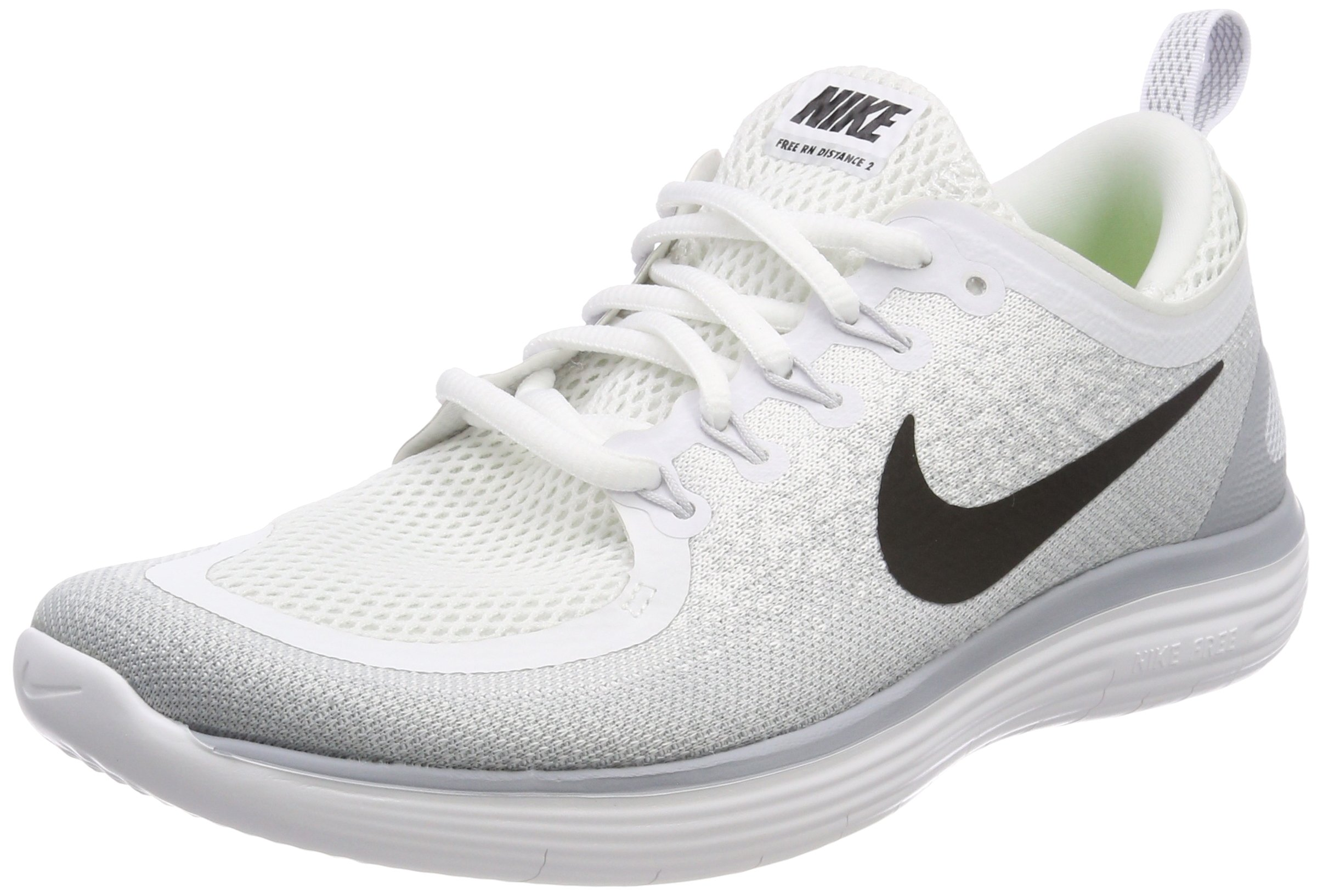newest a1a1a 9e766 Galleon - Nike Men s Free Run Distance 2 Running Shoes (10 D(M) US,  White Black-Pure Platinum)