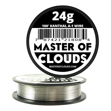100 ft 24 gauge kanthal a1 resistance wire awg 100 lengths 100 ft 24 gauge kanthal a1 resistance wire awg 100 lengths greentooth Image collections