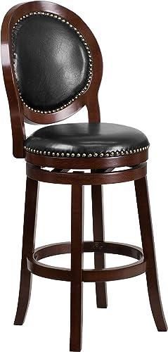 Flash Furniture 30'' High Cappuccino Wood Barstool