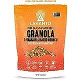 Lakanto Healthy Quick Breakfast Granola, Cinnamon Almond Crunch Cereal with Monk Fruit, Keto Snack, Sugar Free, Vegan…