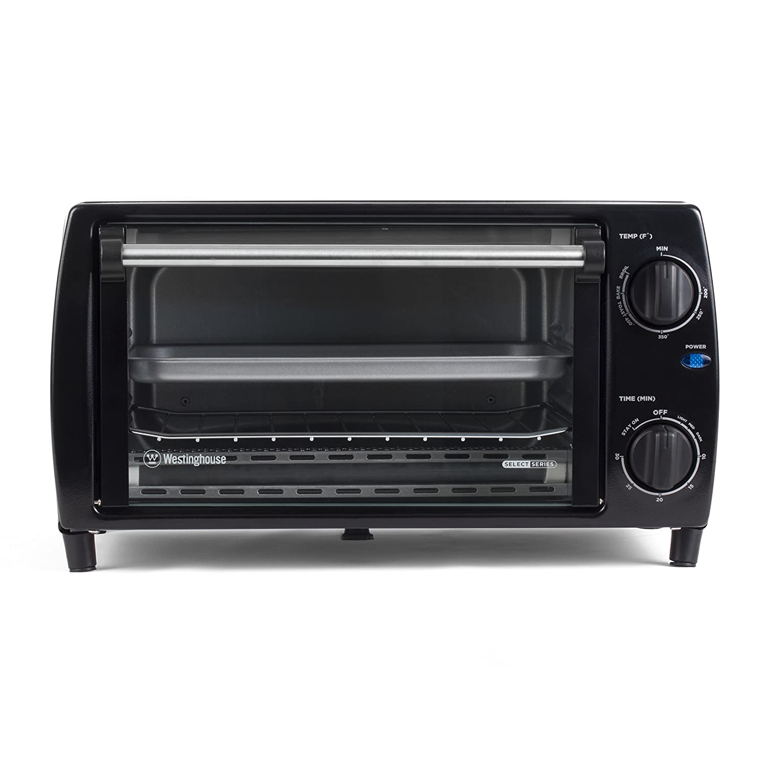 convection toasting dp stainless extra broil wide pan rack countertop decker toaster slice oven black steel bake includes