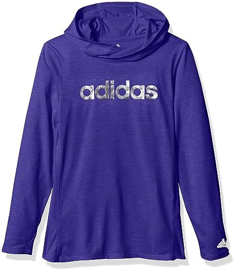 6fe8e57d5 adidas Girls Performance Hoodie Hooded Sweatshirt: Amazon.co.uk: Clothing