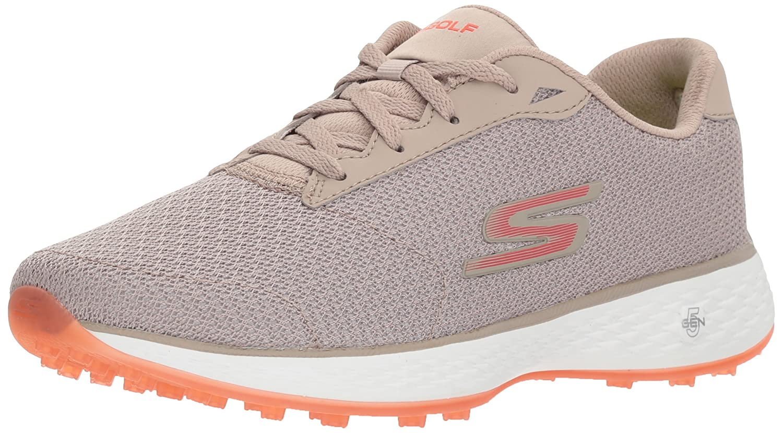 Skechers Women's Go Golf Birdie Golf Shoe B06XWV1R81 10 B(M) US|Natural/Pink Mesh