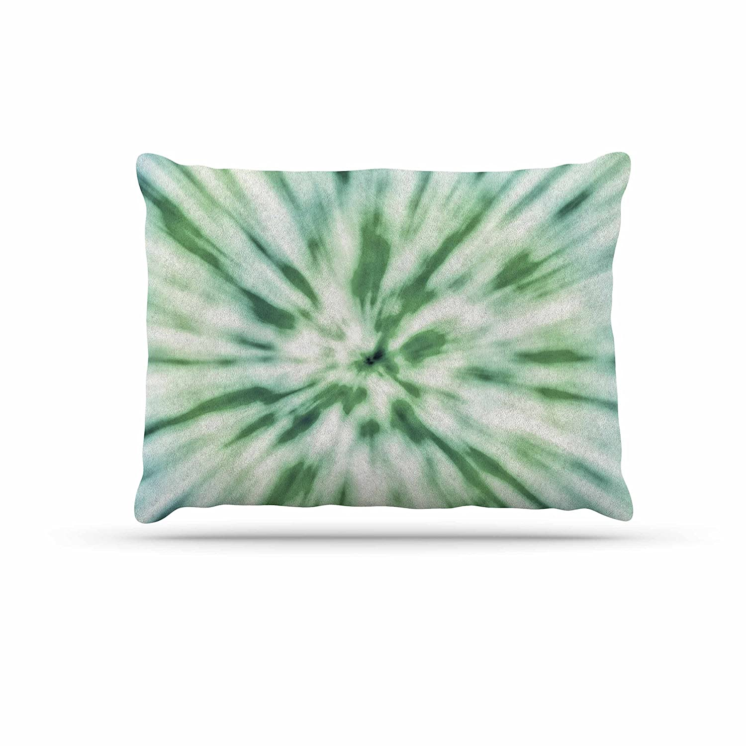 KESS InHouse Nika Martinez Green Spring Tie Dye Green bluee Dog Bed, 30  x 40