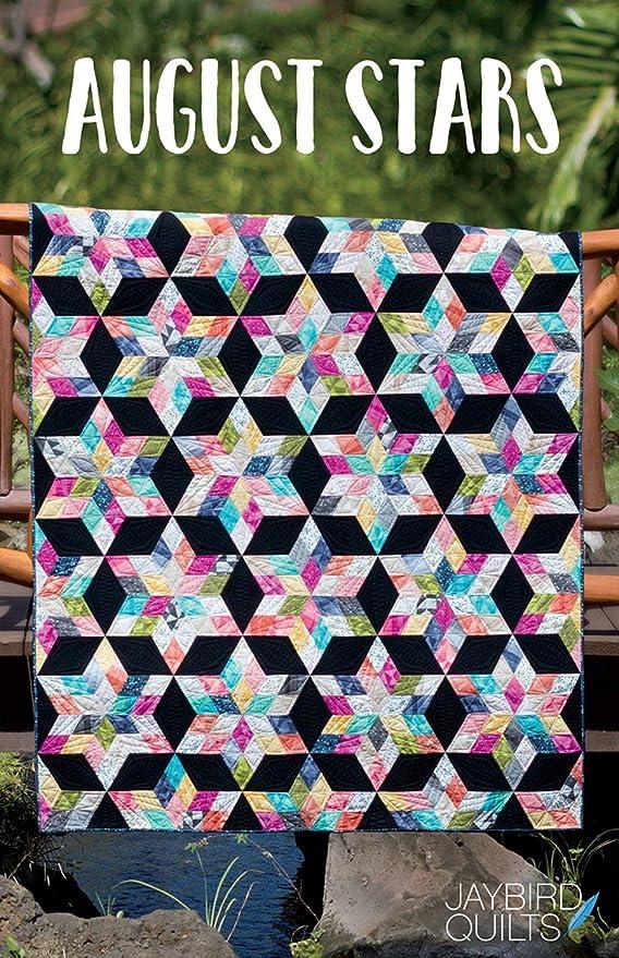 August Stars Jaybird Quilt Pattern