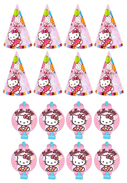 Image Unavailable. Image not available for. Color  Sanrio Hello Kitty  Birthday Party Favors Pack ... 27df183905054
