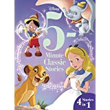 5-Minute Disney Classic Stories: 4 Stories in 1! (5-Minute Stories)