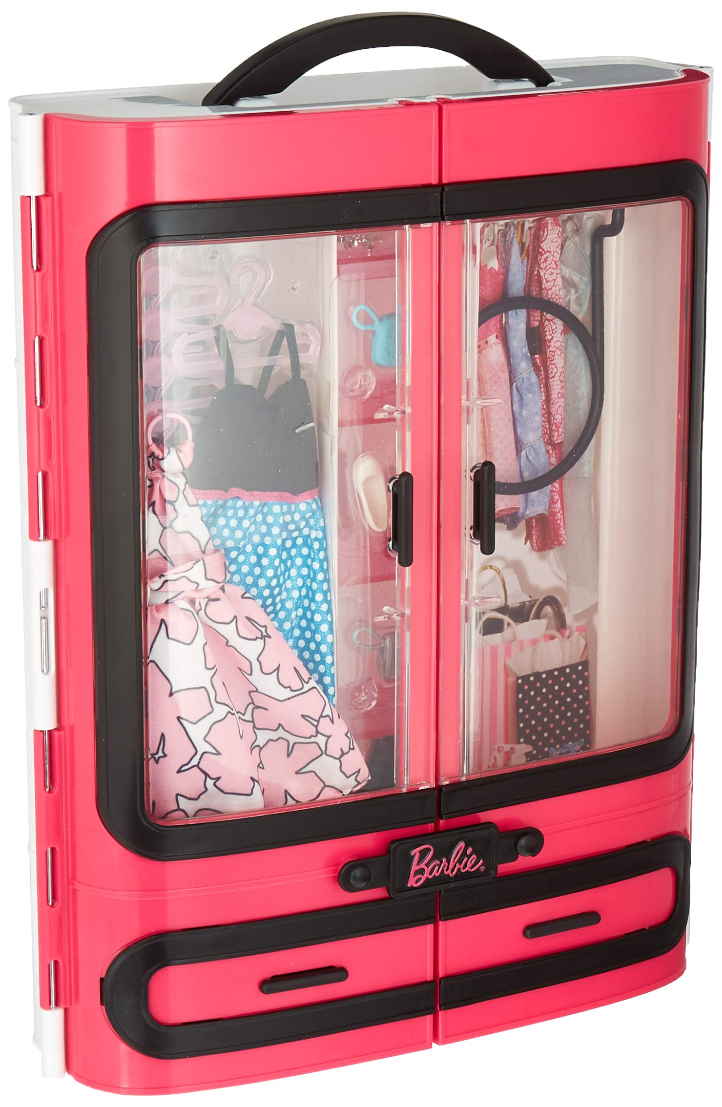 Amazon Com Barbie Pink Tastic Glam Vacation House Amp Doll