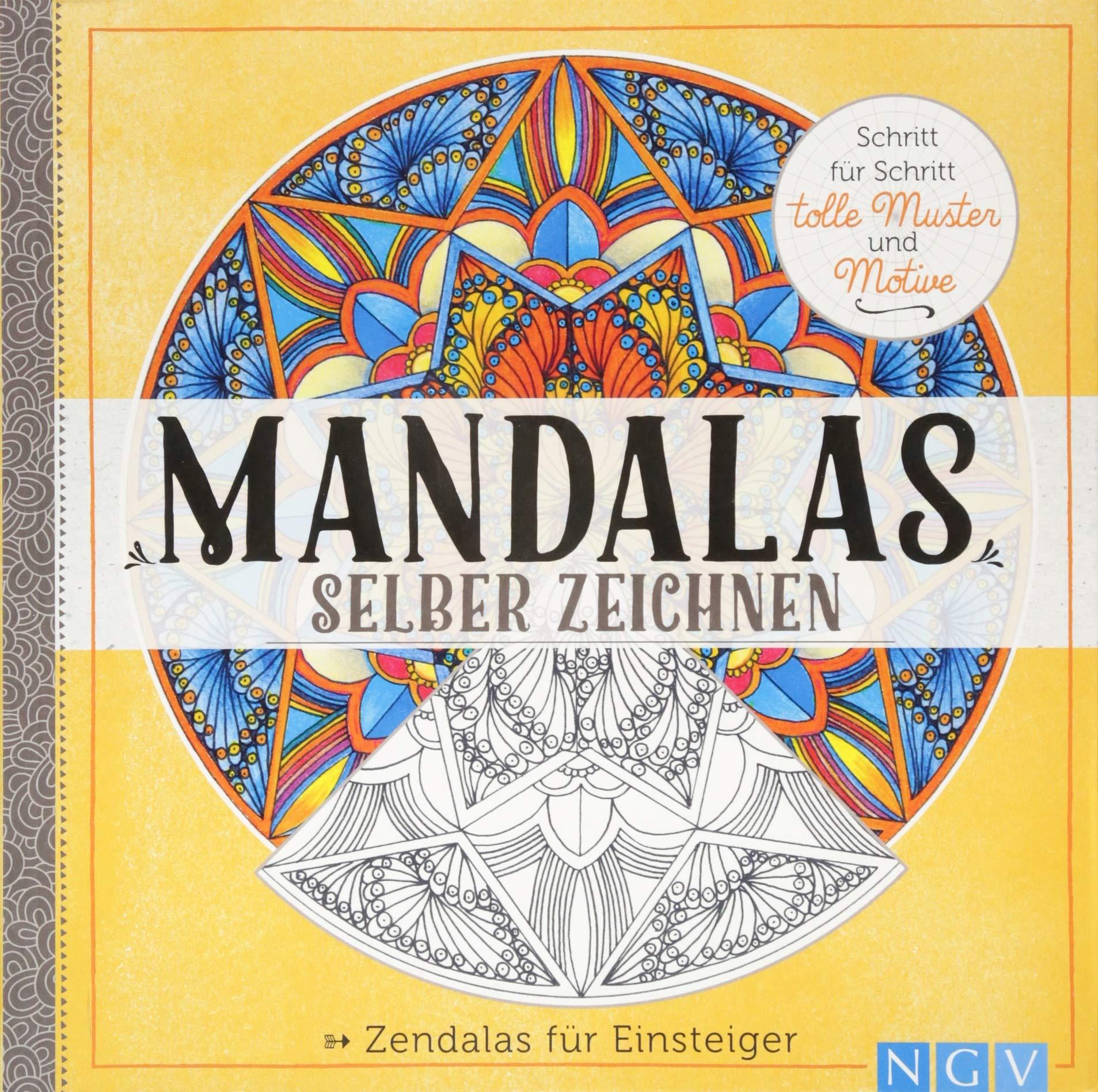 Mandalas Selber Zeichnen Zendalas Für Einsteiger Amazon De