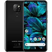 General Mobile GM 20 Tek SIM Akıllı Telefon, 64 GB, Parlak Siyah (Telpa Türkiye Garantili)