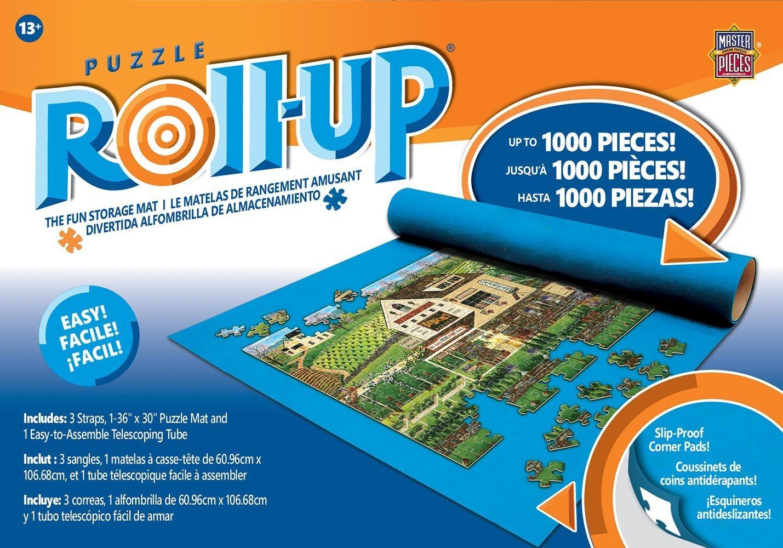 "B001663QTE MasterPieces Accessories, Jigsaw Puzzle Roll & Stow Box, Standard 30"" x 36"", Fits 1000 Pieces 81unHjG4n-L"