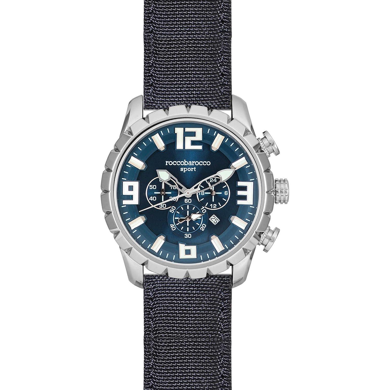 ROCCOBAROCCO Armbanduhr Chronograph Herren Sport Trendy Cod. rbs0060