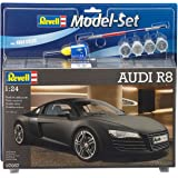 Revell Model Set - 67057 -  Maquette de la Super Car Audi R8 - Echelle 1/24