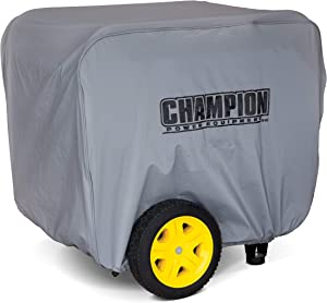 Champion Power Equipment 100699 12,000 Watt Portable Generator Cover, Grey