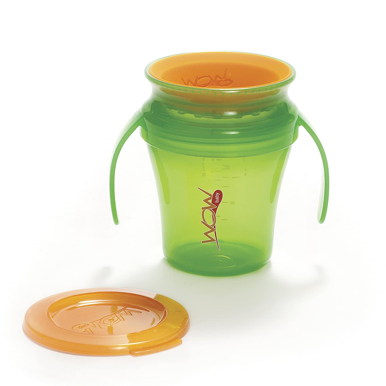 人気商品の JUICY! WOW lid assembly Baby handle Cup Translucent Green cup and handle assembly & Orange freshness lid and valve by Wow Gear B01FZLGMB4, しんびすとのらん屋さん:894949f2 --- arianechie.dominiotemporario.com