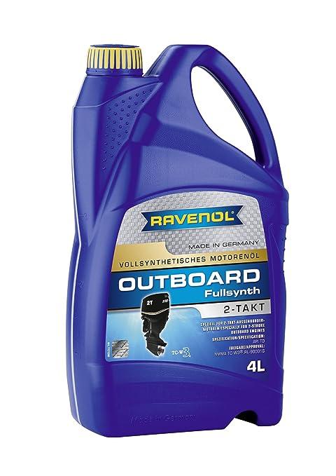 Amazon.com: Ravenol j1 V2100 2-Stroke Petróleo – Motor Fuera ...