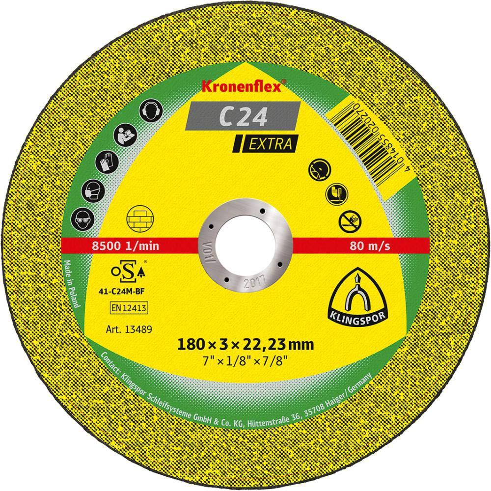 188999 100/x 2,5/x 16/mm Lot de 25/C gek Klingspor Disques /à tron/çonner forme 24/EX