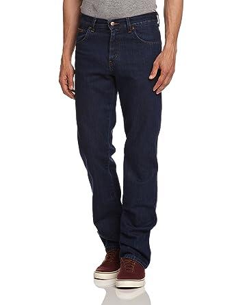 Mens Wrangler Texas Vintage Regular Fit Straight Leg Branded Denim Jeans at  Amazon Men's Clothing store:
