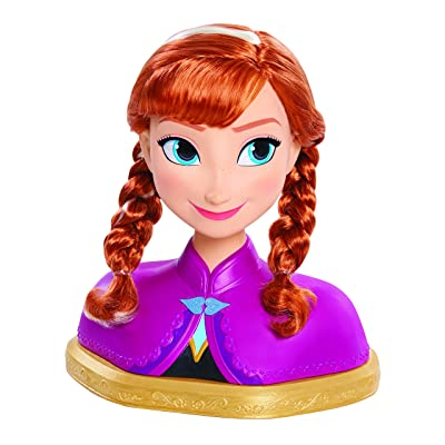 Disney Frozen Deluxe Anna Styling Head: Toys & Games
