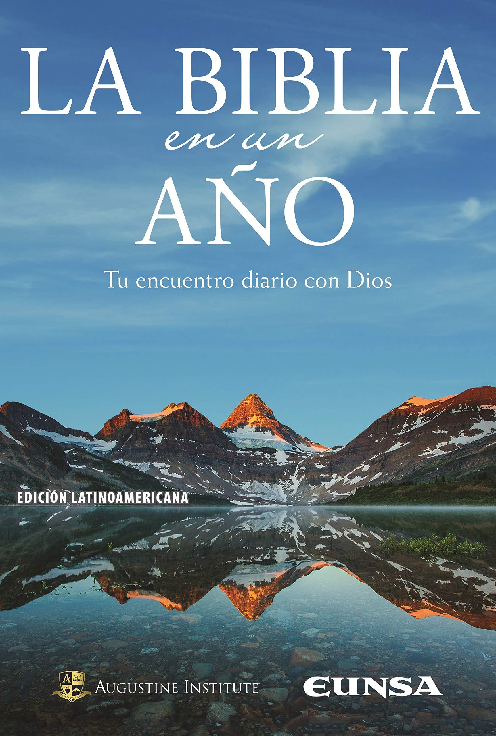LA BIBLIA EN UN AÑO: Tu encuentro diario con Dios Sagrada Biblia ...