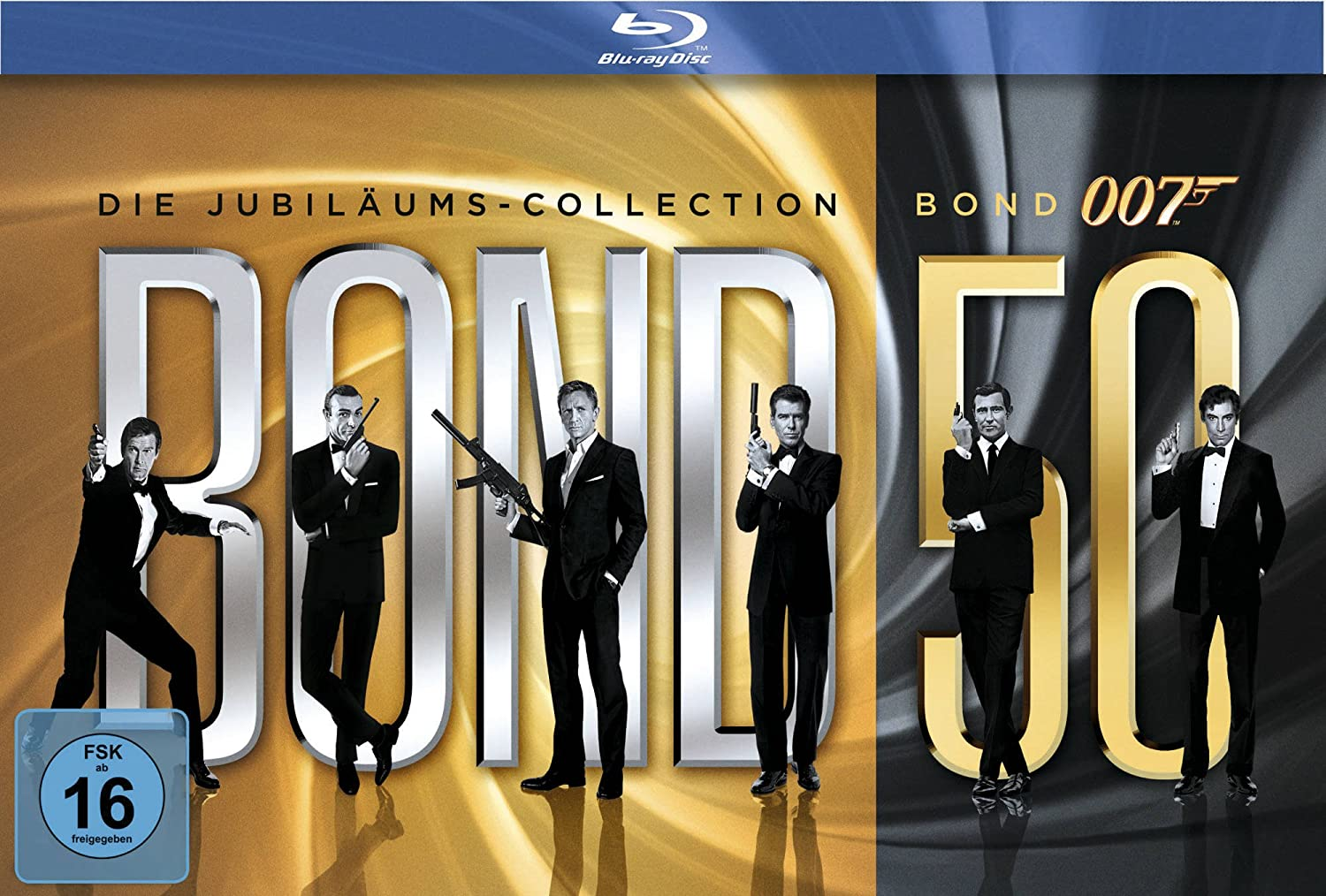 James Bond Bond 50 Die James Bond Jubiläums Collection 23 Blu