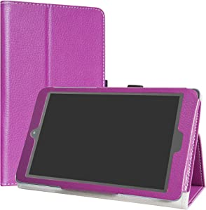 Alcatel A30 Case,LiuShan PU Leather Slim Folding Stand Cover for 8