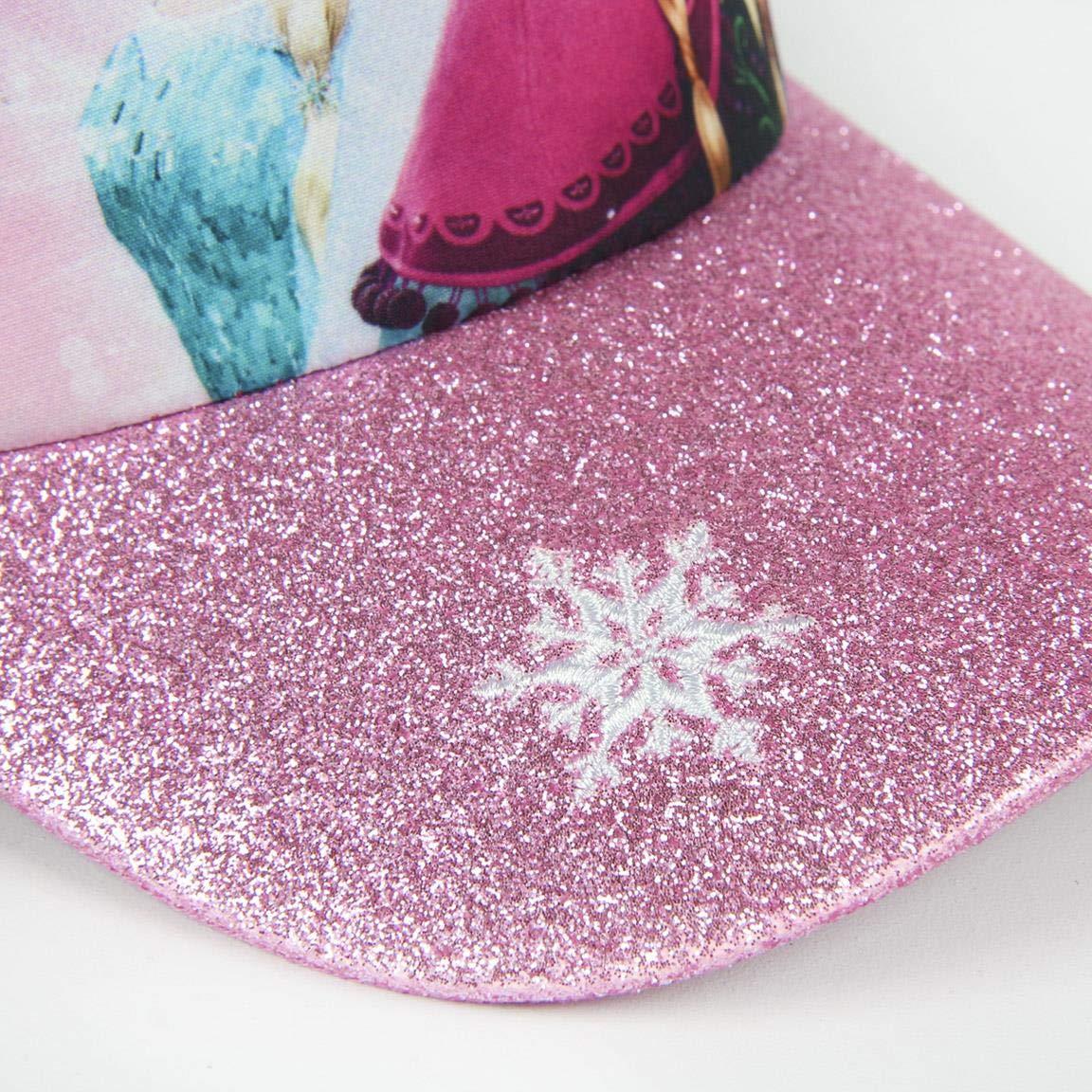Rosa Taglia Produttore: 53 Medium Artesania Cerda Gorra Premium Frozen Cappellopello Bambina