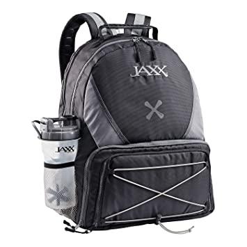 f6f6a7ab62 Jaxx FitPak Meal Prep Backpack with Portion Control Container Set ...