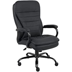 Boss B991-CP Heavy Duty Double Plush Caressoftplus Chair