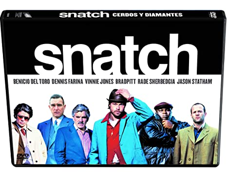 Snatch Cerdos Y Diamantes Edición Horizontal Dvd