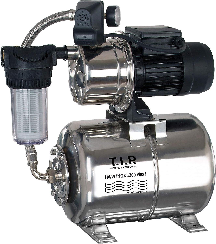 T.I.P 31155 HWW Inox 1300 Plus F Circuit deau domestique en Acier Inoxydable avec pr/é-filtre