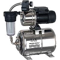 T.I.P. 31155 Central de agua doméstica HWW Inox 1300 Plus F de acero inoxidable con filtro previo