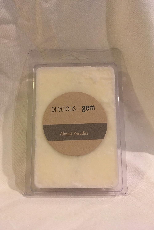 Almost Paradise – 香り大豆ワックスTart大豆ワックスTart With A Gemstone Inside ( Surprise半貴石ファセットジェムストーンValued $ 10 - 5 , 000ドル) B06ZZXCN6N