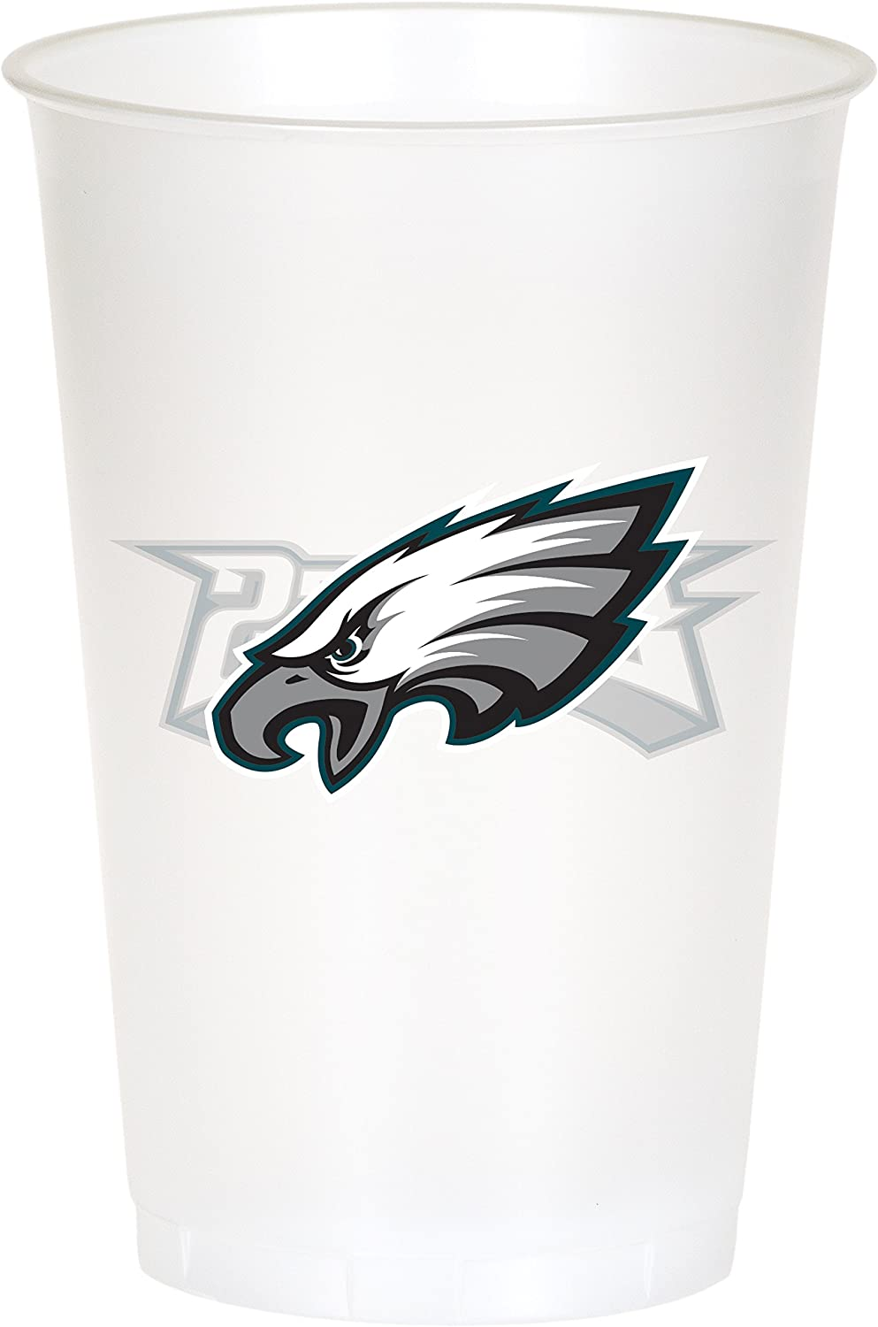 Amazon.com: Philadelphia Eagles vasos de plástico, 24 ...