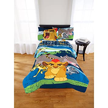 Disney The Lion Guard Comforter And Sheets 5pc Bedding Set (Full Size)