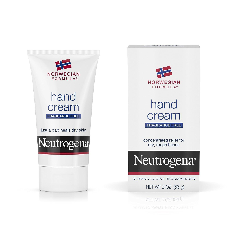 Neutrogena Norwegian Formula Moisturizing Hand Cream Formulated with Glycerin for Dry, Rough Hands, Fragrance-Free Intensive Hand Cream, 2 oz