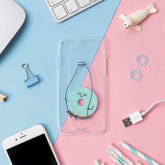 Mr. Wonderful Carcasa Transparente iPhone 6 - Rosquilla