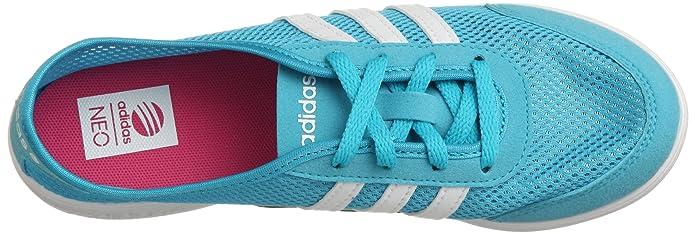 adidas Neo QT Lite W Damen Sommer Sneaker Türkisblau