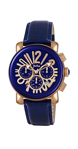 watches watch leather versace vanitas ladies dial blue