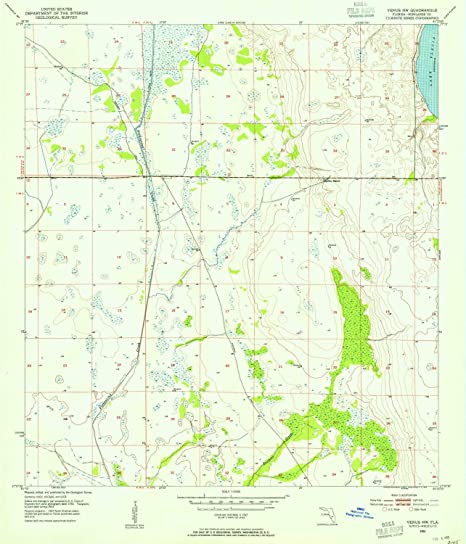Amazon.com : YellowMaps Venus NW FL topo map, 1:24000 Scale ... on terraformed moon map, earth as a map, earthsea map, mars elevation map, victoria as a map,