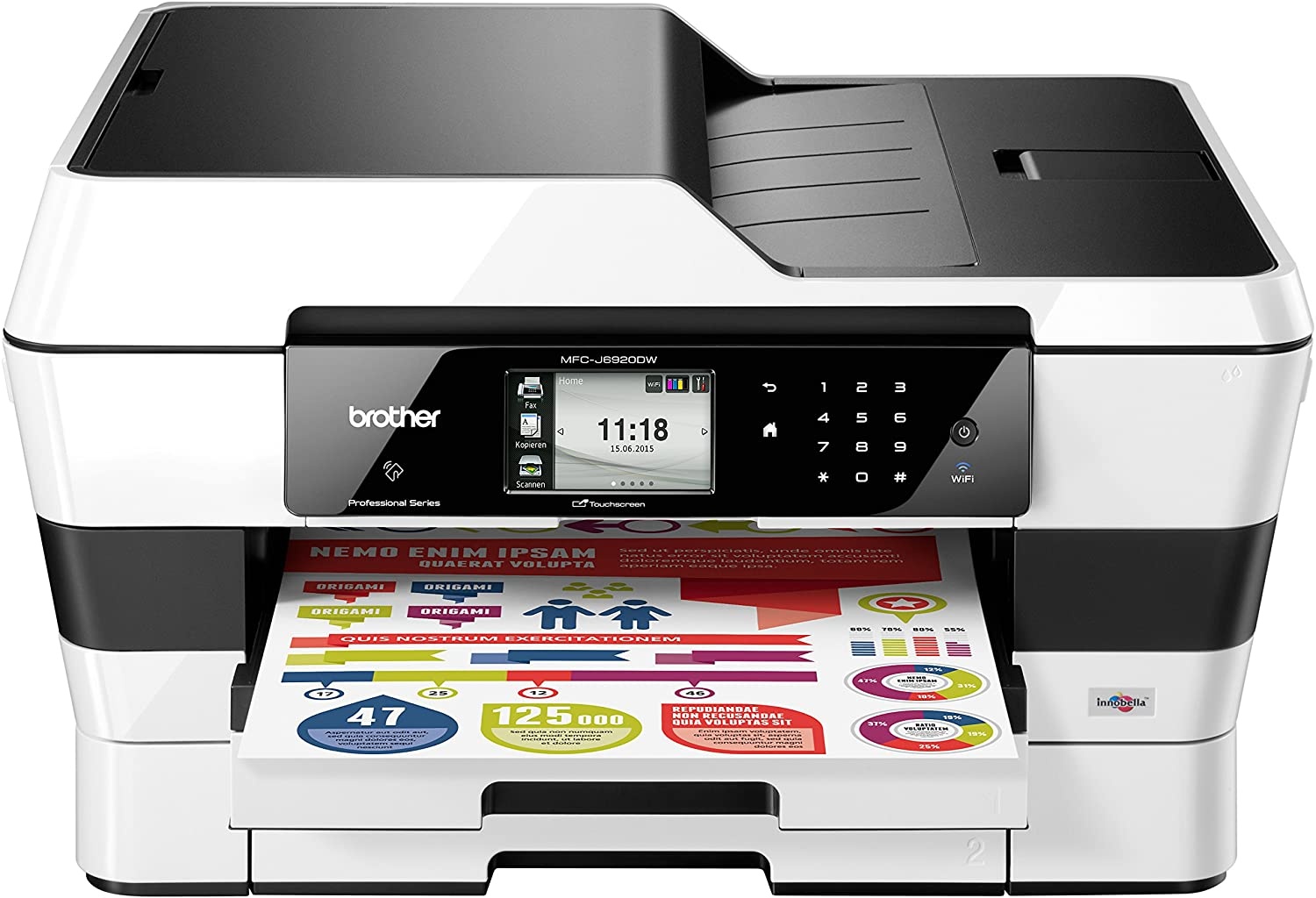 Brother MFC-J6920DW - Impresora a color multifunción (impresora ...