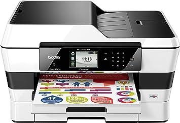 Brother MFC-J6920DW - Impresora a color multifunción (impresora, fax, escáner y fotocopiadora, tamaño A3, 22 ppm, 2 bandejas de papel de 250 hojas, ...