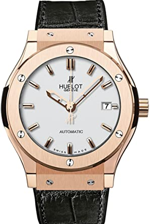 5b517ef7d7f Image Unavailable. Image not available for. Color: Hublot Classic Fusion  Rose Gold ...