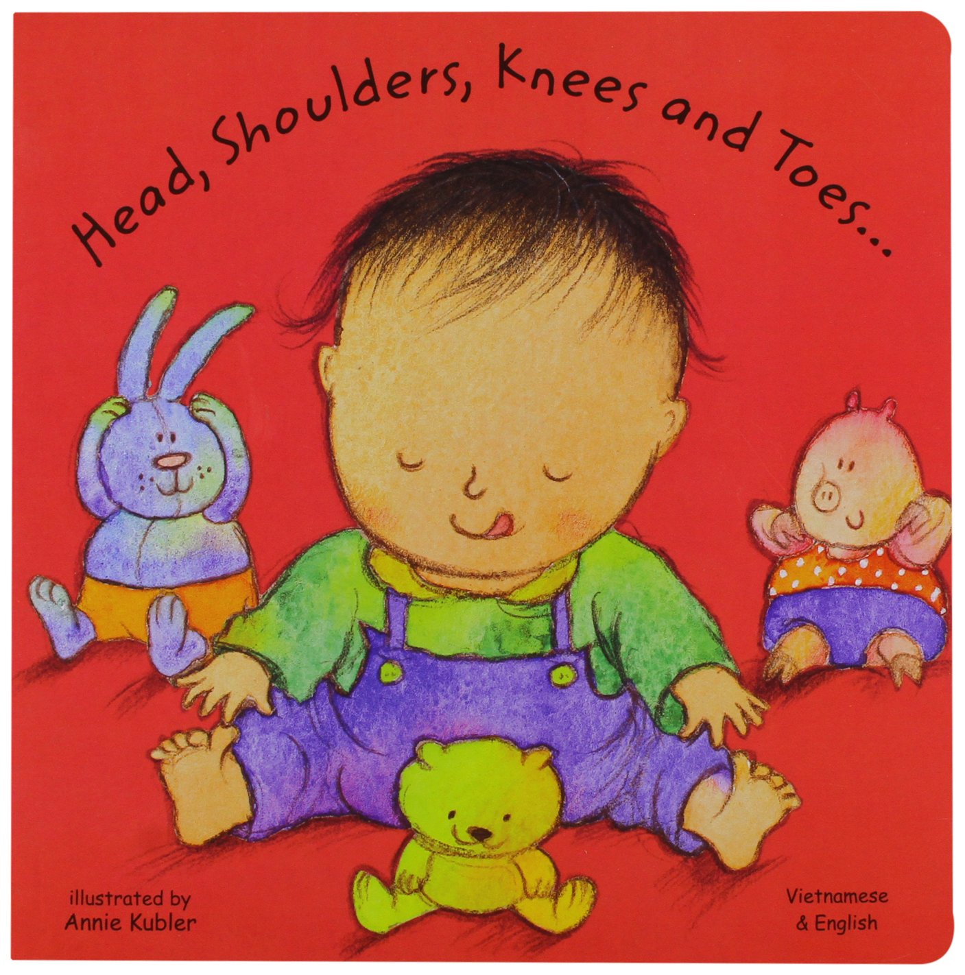 Download Head, Shoulders, Knees and Toes in Vietnamese and English (Board Books) (English and Vietnamese Edition) PDF