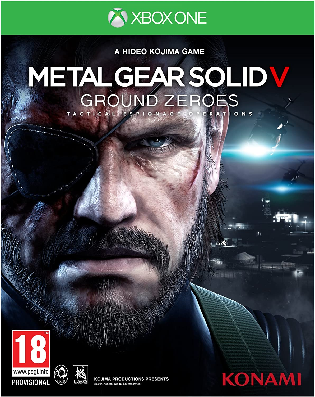 Metal Gear Solid V: Ground Zeroes (Xbox One) [Importación Inglesa]: Amazon.es: Videojuegos