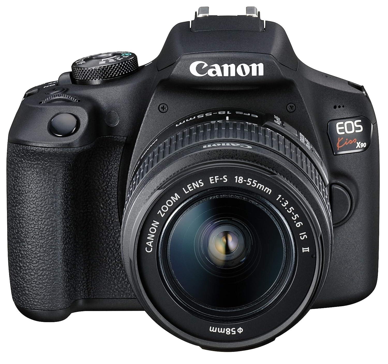 Canon デジタル一眼レフカメラ EOS Kiss X90 レンズキット EF-S18-55 IS II付属 EOSKISSX901855IS2LK   B079ZTMV8V